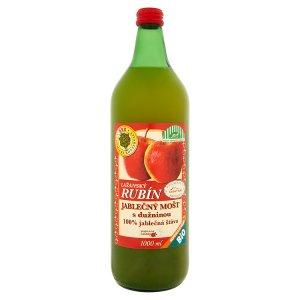 Lažanský Rubín Jablečný mošt s dužninou 100% jablečná šťáva 1000ml