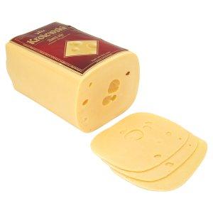 Krolewski sýr přírodní polotvrdý sýr (krájený) 100g, vybrané druhy
