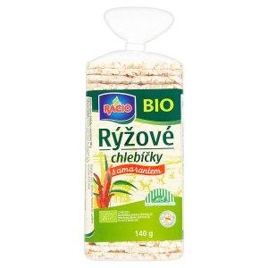 Racio Bio chlebíčky 140g, vybrané druhy