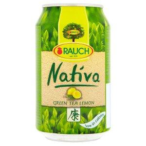 Rauch Nativa Zelený čaj 0,33l, vybrané druhy
