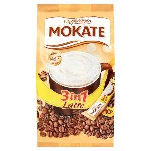 Mokate Caffelleria Latte classic 3v1 10 x 15g