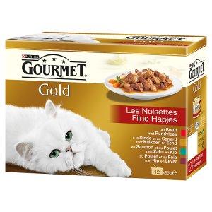 Gourmet Gold Multipack kousky ve šťávě 12x85g