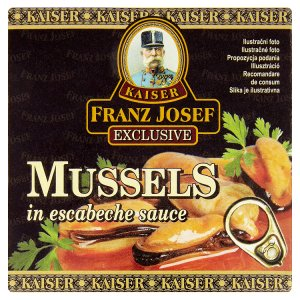 Kaiser Franz Josef Exclusive Mušle v nálevu 80g