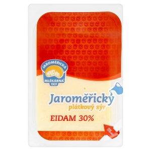 Jaroměřická Mlékárna Jaroměřický eidam 30% plátky 100g