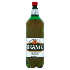 Braník Jedenáctka pivo ležák světlý 2,0l v akci