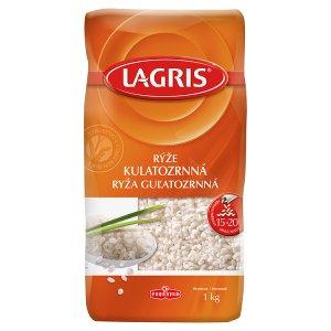 Lagris Rýže kulatozrnná 1kg