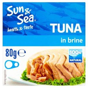 Sun & Sea Tuňák ve vlastní šťávě 80g