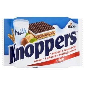 Storck Knoppers Oplatky s mléčným a lískooříškovým krémem 25g