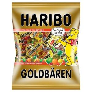 Haribo Goldbären želé s ovocnými příchutěmi 250g