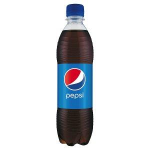 Pepsi Cola 0,5l, vybrané druhy
