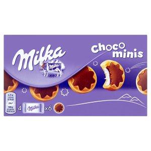 Milka Choco Minis 4 x 37,5g, vybrané druhy