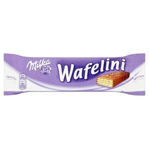 Milka Wafelini 31g, vybrané druhy