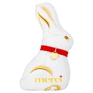 Merci Zajíček - dutá figurka z mléčné čokolády 120g