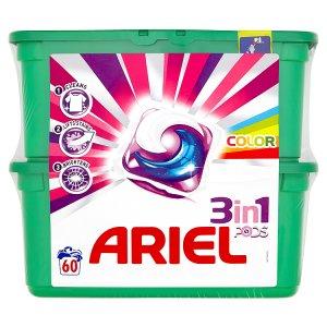 Ariel gelové kapsle 60 dávek, vybrané druhy