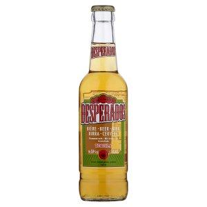 Desperados pivo speciální světlé ochucené s příchutí Tequily 0,33l