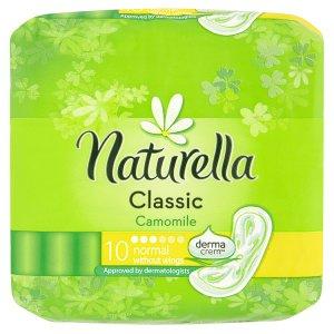 Naturella Classic camomile hygienické vložky s jemnou vůní 10 ks