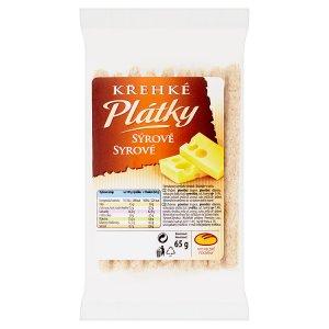Michelské Pekárny Křehké plátky sýrové 65g