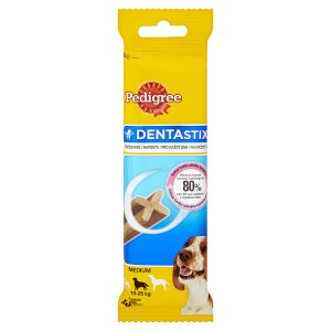 Pedigree Dentastix Medium 3 tyčinky 77g