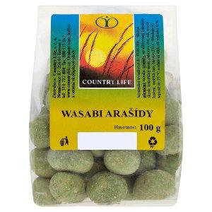Country Life Wasabi arašídy 100g