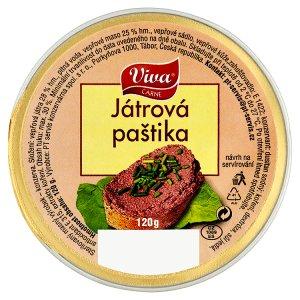 Viva Carne Játrová paštika 120g