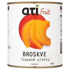 Ati Fruit broskve loupané plátky 850ml