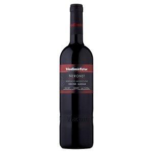 Vinařství Vladimír Tetur Neronet barrique odrůdové jakostní víno červené suché 0,75l