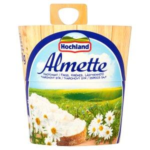 Hochland Almette Nadýchaný tvarohový sýr 150g, vybrané druhy