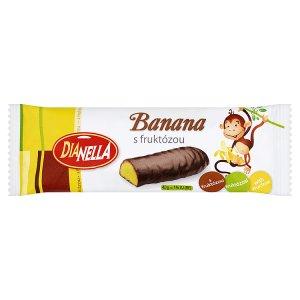 DiaNella Banana tyčinka s fruktózou 40g