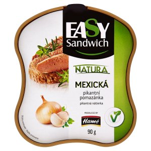 Hamé EasySandwich Natura 90g, vybrané druhy