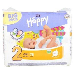 "Happy Mini Dětské plenky ""2"" á 78 ks"