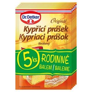 Dr. Oetker Originál kypřicí prášek do pečiva 5 x 12g