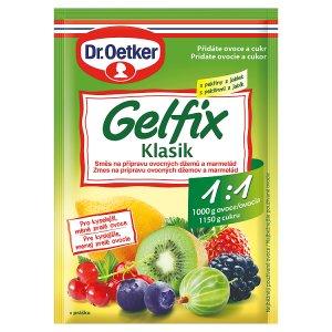 Dr. Oetker Gelfix Klasik 1:1 na přípravu ovocných džemů a marmelád 25g