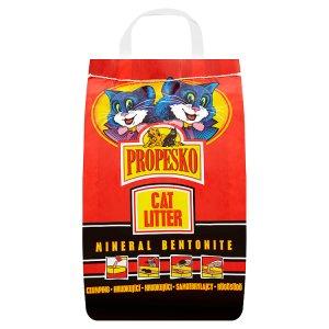 Propesko Mineral bentonite hrudkující stelivo pro kočky 5kg