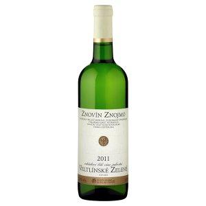 Znovín Znojmo Veltlínské zelené 2011 odrůdové jakostní bílé suché víno 0,75l