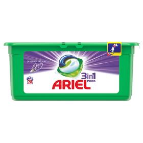 Ariel gelové kapsle 28dávek, vybrané druhy