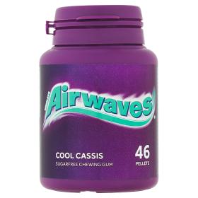 Wrigley's Airwaves Cassis žvýkačka bez cukru 46 ks dražé