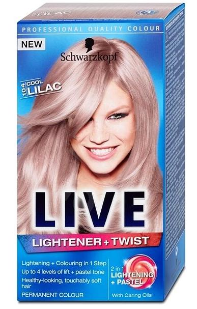 Schwarzkopf Live barva na vlasy, vybrané druhy