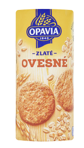 Opavia Zlaté ovesné sušenky 215-225 g