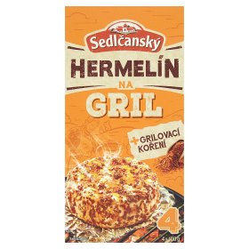 Sedlčanský Hermelín na gril s kořením 407g