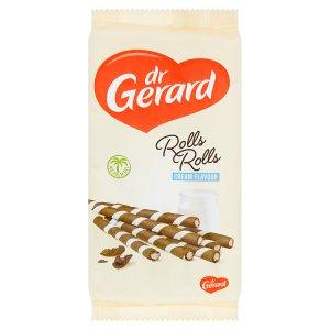 dr Gerard Oplatkové trubičky kakaové s náplní s příchutí smetany 160g