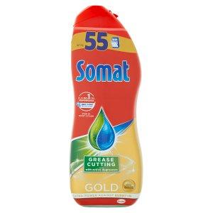 Somat Gold Grease Cutting gel na mytí nádobí v myčce 990ml