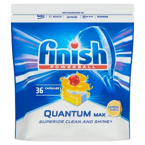 Finish Powerball Quantum Max Lemon Sparkle tablety do myčky nádobí 36 ks 558g