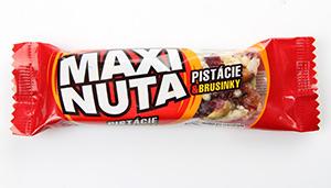 Maxi Nuta pistácie a brusinka