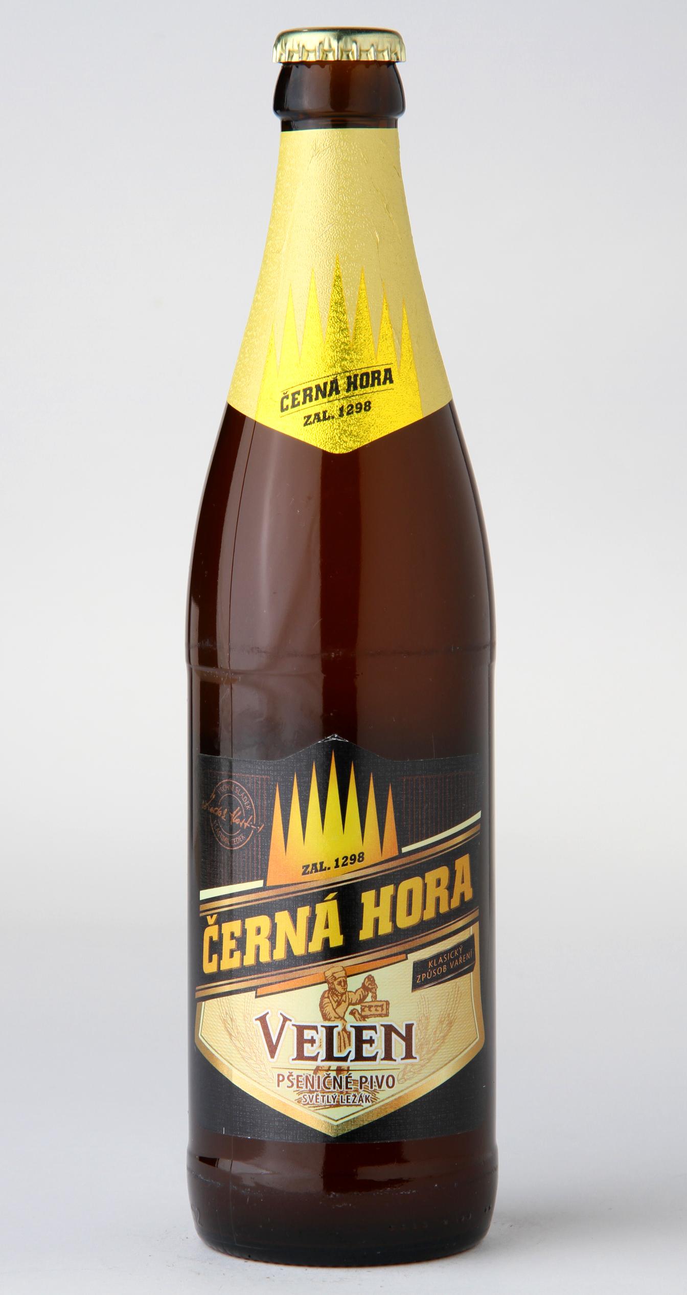 Černá Hora Velen Pšeničné pivo