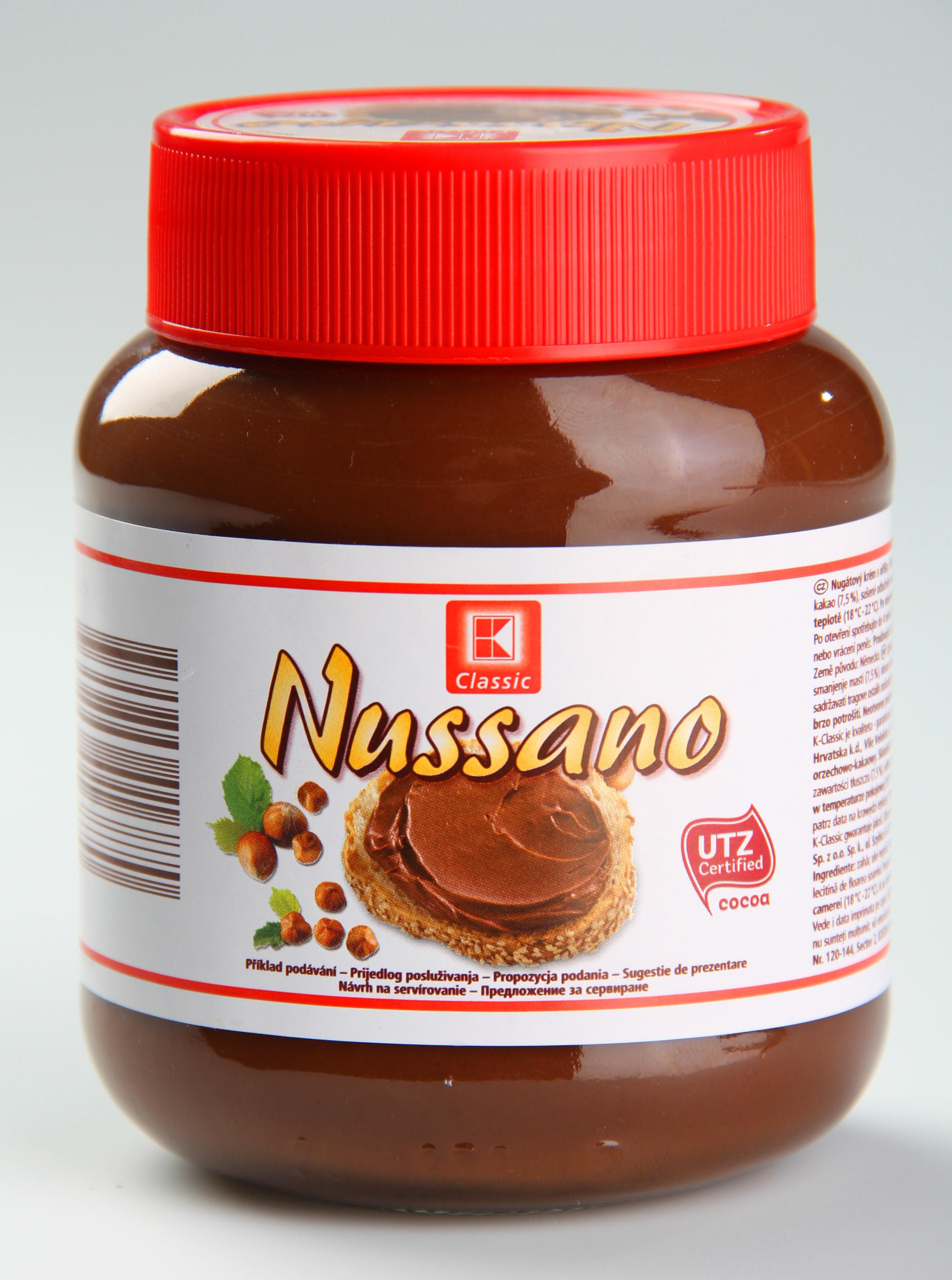 K-Classic Nussano Nug. krém s oříšky