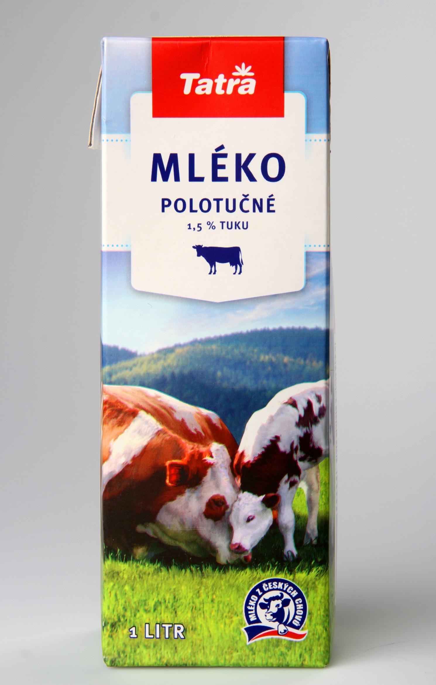 Tatra Mléko polotučné