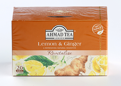 Ahmad Tea Lemon & Ginger