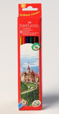 Pastelky Faber-Castell, 6 kusů