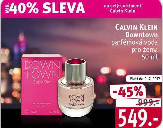 Calvin Klein Downtown parfémová voda pro ženy, 50 ml